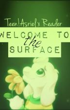 (OLD) Welcome To The Surface (Teen!Asriel X Reader by AkariEmerald
