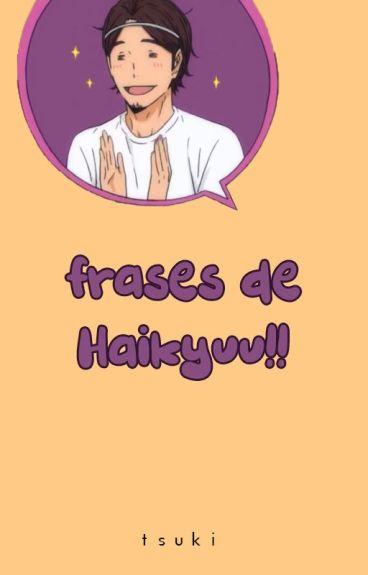 Frases de Haikyuu!!