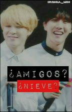 ¿Amigos?, ¿Nieve?  →《HopeMin》 by Ironia_Min