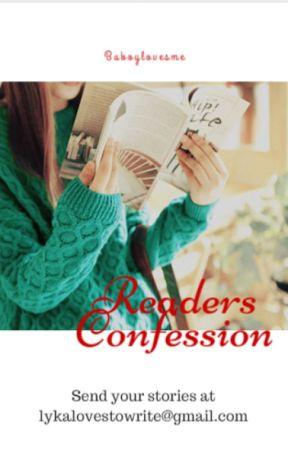 Reader's Confession by baboylovesme