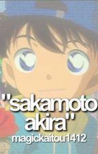 Sakamoto Akira (Magic Kaito/Detective Conan) by magickaitou1412