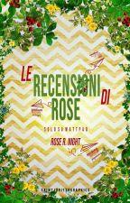 Servizio recensioni by Rosalie_TheDarkLady