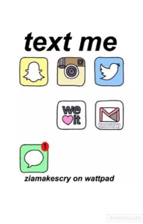 text me » z.m ✖️ by ziamakescry