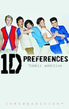 One Direction: Preferences by juxtaposition-