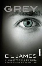 Grey: Cinquenta tons de cinza pelos olhos de Christian by PlayLivros