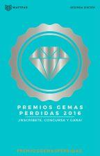 Premios Gemas Perdidas 2016 ©[Cerrado] by PremiosGemasPerdidas