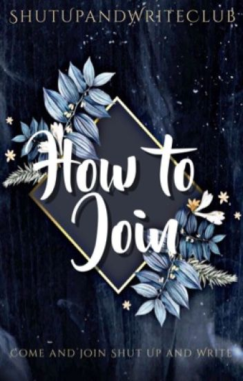 🔱Join Shut Up and Write🔱