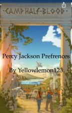 Percy Jackson Preferences by yellowlemon123
