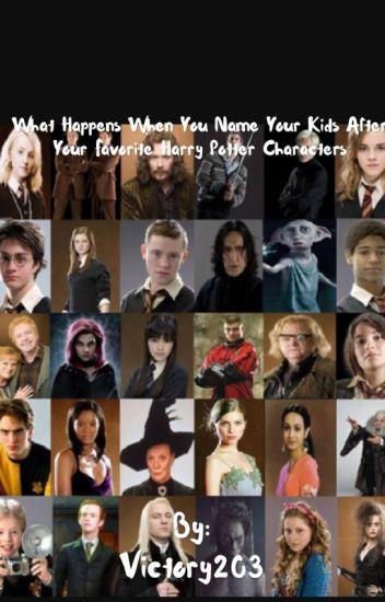 Гарри поттер имена персонажей