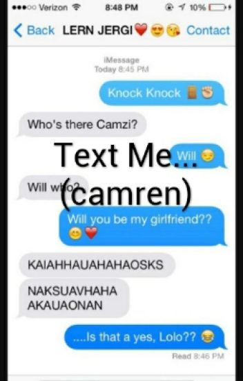Text Me...(camren)