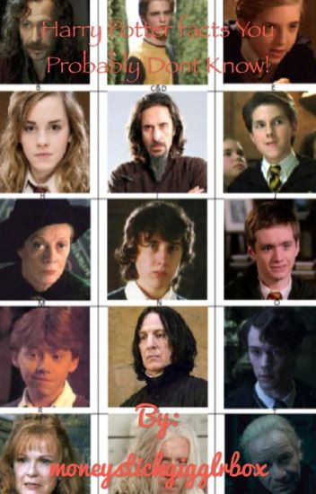 Harry Potter Facts You Probably Did Not Know!!!!
