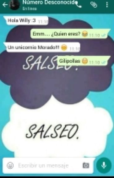 WhatsApp Desconocido  Vegetta y tu