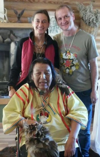 Oceti Wakan Sacred Fire Place holy man of the lakota