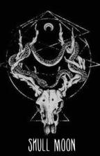 Skull Moon by inkedfantasies
