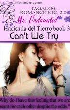 CAN'T WE TRY?(Hacienda del Tierro Book3)By: Ms. Undaunted by TagalogRomanceEtc