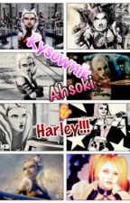 Rysownik Ahsoki Tano & Harley Quinn ❤️ by mania2308