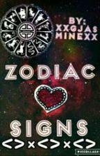Zodiac Signs by XxmjasminexX