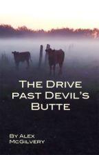 The Drive Past Devil's Butte by AlexMcGilvery