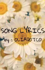 SONG LYRICS by Oliadotco