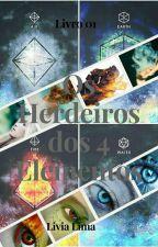 Os Herdeiros dos 4 elementos by livia-santos234