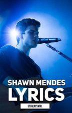 Shawn Mendes Lyrics by stealmyswirl