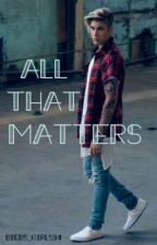 All That Matters | Justin Bieber by kdrawhl