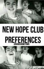 New hope club preferences by bandshometown
