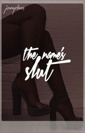 The Name's Slut | discontinued  by jimmychoos