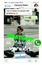 whatsapp de magcon ➸ old magcon versión argentina by bealrxght