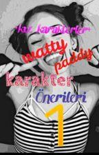 •kız Karakterler• WATTY PADDY KARAKTER ÖNERİLERİ 1 by DEMILOVATOPUDING