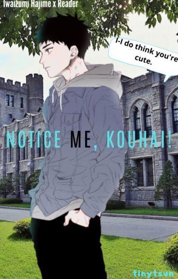 Notice Me, Kouhai! Iwaizumi x Reader✔