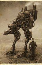 South African Steam, 1900 (vignette) by SteveTurnbull
