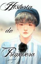Historia de Primavera (FANFIC BTS) by Dexxpot__773