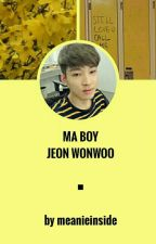 ☆ Ma Boy [Jeon Wonwoo] ☆ by meanieinside