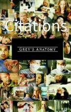Citations Grey's Anatomy T.1 by Every-Second