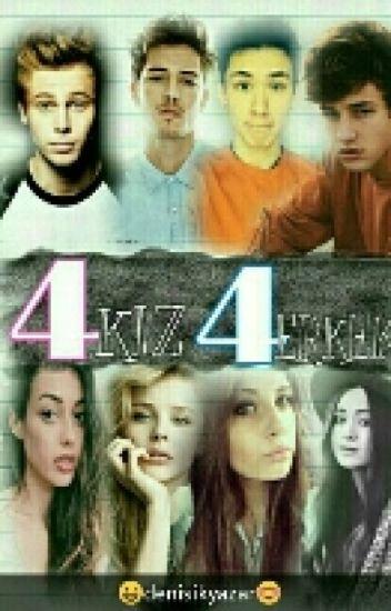 4 kız 4 erkek