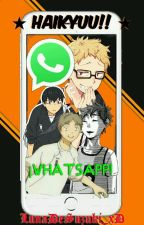 Haikyuu!!: WhatsApp by Luna_DiLuxSoni