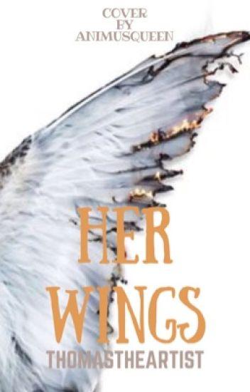 Her wings (Laurence, Garroth, Travis, Aaron, x reader)
