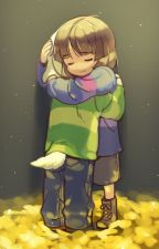 [Undertale] The Hell | Asriel x Frisk | Drabble by AxeDeChocolate