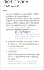 A Dictionary For Words That #SAS Made by _CrafterCorns_
