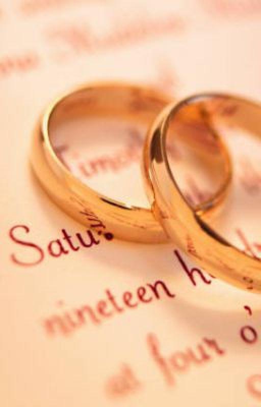 My wedding, my death by Authormegmeg
