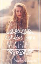 Estados Para WhatsApp by freedomispeacefull
