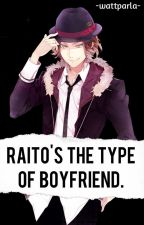Laito's the type of boyfriend. by -wattparla-