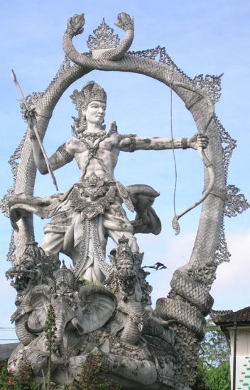 Arjuna and Subhadra: the abduction