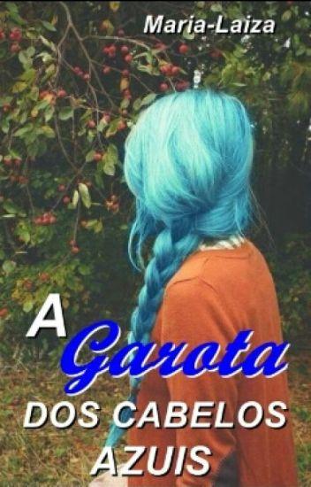 A garota dos cabelos azuis