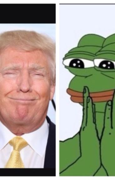 Pepe the frog x Donald trump