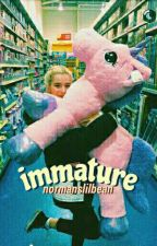 Immature ❁ afi by normanslilbean