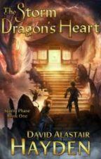 The Storm Dragon's Heart by davidalastairhayden