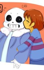 Razor ~ Frisk x Sans ~ by shut_up_abby
