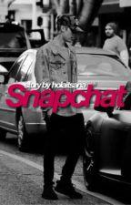 snapchat; jb & ag by jarianasbabies